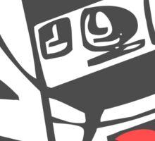 Camera Shy Sticker
