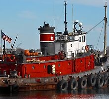 The adorable tug boat by Poete100