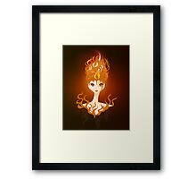Fire Imp Framed Print