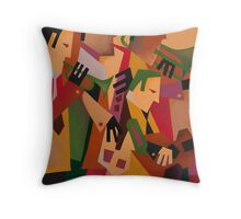 DEXTER GORDON WITH THE BOPLAND BOYS 1947 Throw Pillow