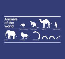 Animals of the World by beardo