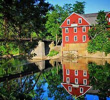 War Eagle Mill and Bridge, Arkansas by Gregory Ballos | gregoryballosphoto.com