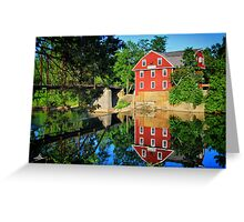 War Eagle Mill and Bridge, Arkansas Greeting Card