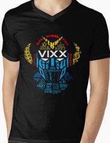 VIXX Mens V-Neck T-Shirt