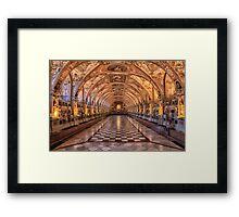 Residence Munich Framed Print