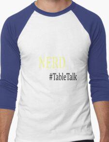 Sourcefed - Nerd - #TableTalk - Reddit - (Designs4You) Men's Baseball ¾ T-Shirt