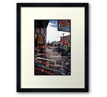 Paul the Movie: Location: Eli's Comics 1 Framed Print