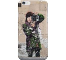 photo girl in paris iPhone Case/Skin