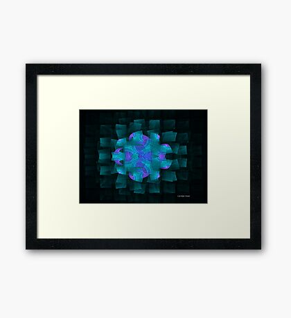 Pieces of the Puzzle Framed Print