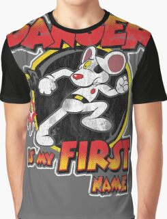 Danger is my First Name Graphic T-Shirt