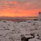 Peggy's sunset by Roxane Bay