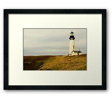 Gem Of The Central Oregon Coast Framed Print