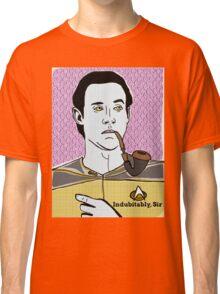 Lt. Commander Data of the starship Enterprise  Classic T-Shirt