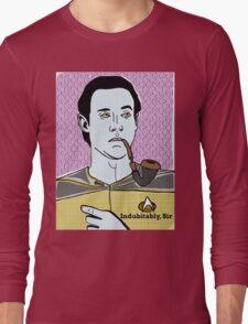 Lt. Commander Data of the starship Enterprise  Long Sleeve T-Shirt