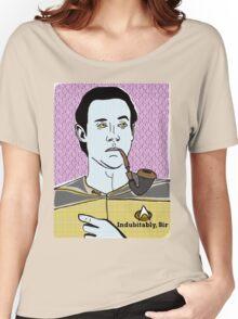 Lt. Commander Data of the starship Enterprise  Women's Relaxed Fit T-Shirt