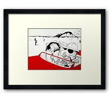 Fear and Loathing in Muppet Vegas Framed Print