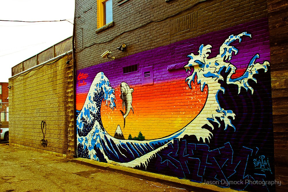 The Great Wave...Graffit style by Jason Dymock Photography