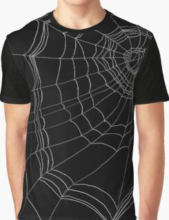 Lazy Spider's Web Graphic T-Shirt