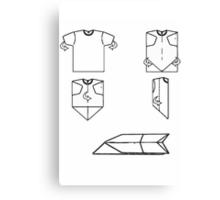 plane-t-shirt Canvas Print