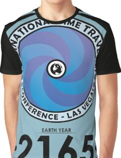 The Time Traveler's Conference 2165 Graphic T-Shirt
