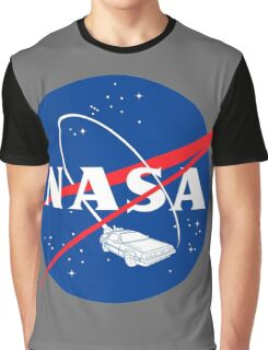 NASA Back 2 Future Graphic T-Shirt