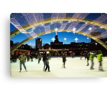 Nathan Phillips Square T.O Canvas Print