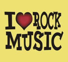I love rock music by Nhan Ngo