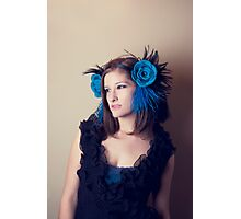 Ahnna In Blue Photographic Print