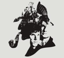 Sherlock Vector Collage by Dope Prints