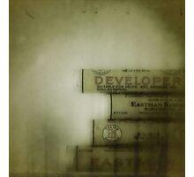 developer Photographic Print