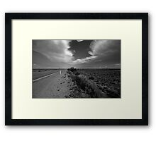 New Year's Drive Framed Print