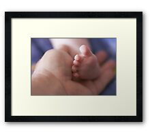 New Life at Hand Framed Print