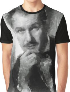 Vincent Price by John Springfield Graphic T-Shirt