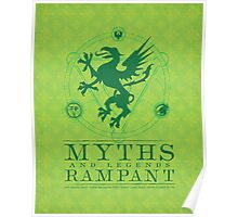 Myths and legends Rampant Poster