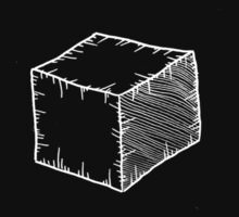 OLD CUBE (white) by Michael Sandford