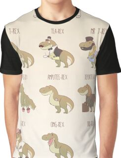 The T-Rex Expert Guide Graphic T-Shirt