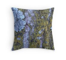 a tree adorned Throw Pillow