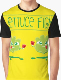 Lettuce Fight Graphic T-Shirt
