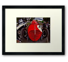 Clem Dyer Plymouth Special 1937 Framed Print