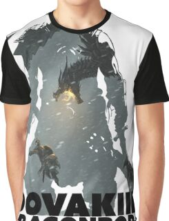 Dovakiin/Dragonborn Art Decal Graphic T-Shirt