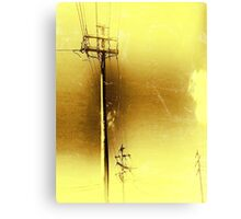 High Wired Canvas Print