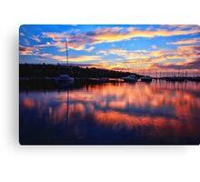 Sunrise @ Middle Harbour Canvas Print
