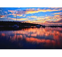 Sunrise @ Middle Harbour Photographic Print
