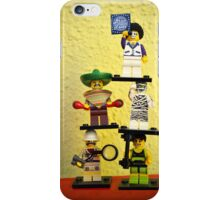 Brick fever iPhone Case/Skin