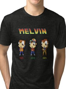 BTTF Melvin Tri-blend T-Shirt