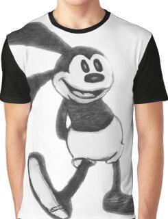 An Unlucky Rabbit Graphic T-Shirt