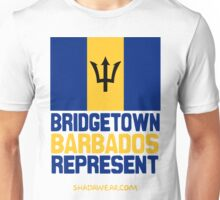Bridgetown Barbados Represent Unisex T-Shirt
