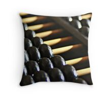 Chinese Abacus Throw Pillow