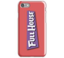 Full House Logo iPhone Case/Skin