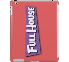 Full House Logo iPad Case/Skin